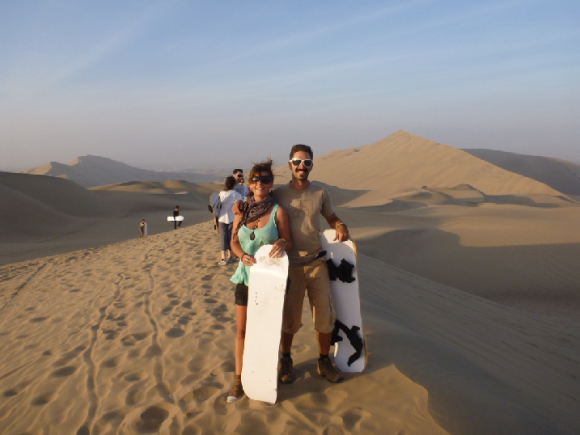 Sandbording in Huacachina, Peru (creative commons)
