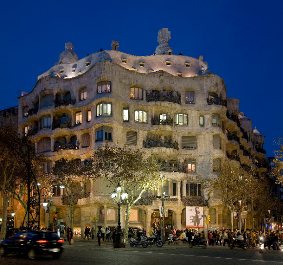 Casa Mila, Barcelona (creative commons)