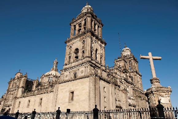 Cathedral in Mexico (creative commons)