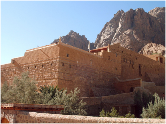 St. Catherine Monastery (creative commons)