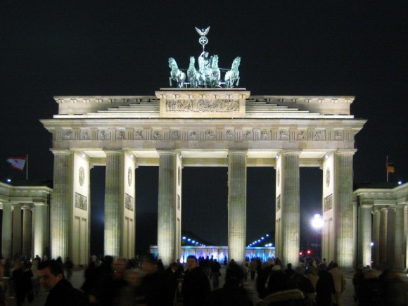 Brandenburg Gate, Berlin (creative commons)