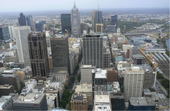 Melbourne by dushy.k via Flickr (creative commons)