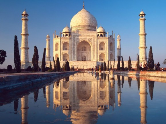 The Taj Mahal By TIX (Creative Commons)