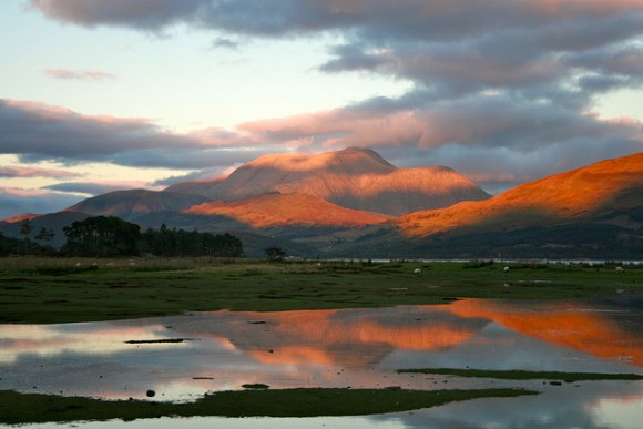 Ben Nevis Sunset by Jim Grant (Creative Commons)