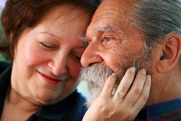 Senior Couple in Love (creative commons)