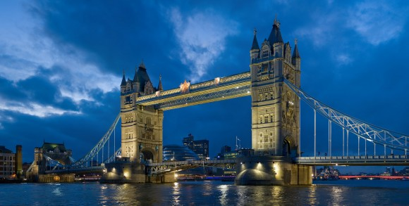 Tower Bridge at Night (Creative Commons)