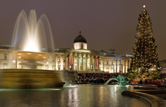 Trafalgar Square Christmas (Creative Commons)