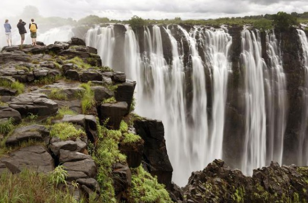 Zimbabwe's waterfalls are one of its biggest tourist attractions...