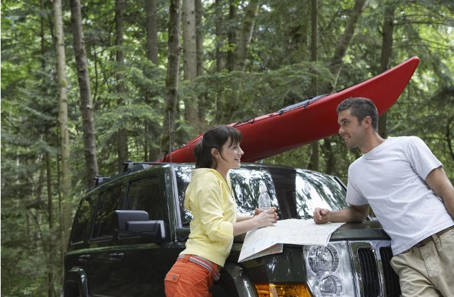 people with land rover