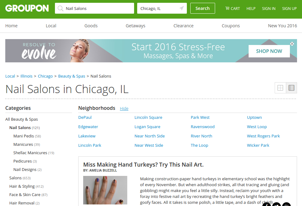 Treat yourself to big savings on nail art with groupon for 24 hour nail salon chicago